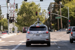 The Google self-driving vehicle
