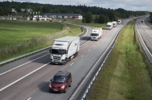 Scania leads European research project on vehicle platooning