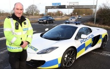 UK police receives McLaren 12C Spider patrol car